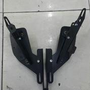 Braced Winshild / Winsield Plus Dudukan Spion R25 For Yamaha Nmax
