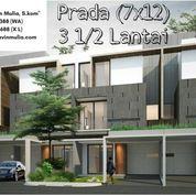 Rumah Medan SHM - Givency One - Type Prada (7x12)