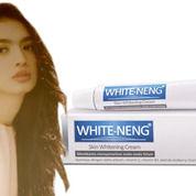 Cream White-Neng Noda Hitam Kabur
