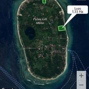 Tanah Tepi Pantai Gili Meno Lombok View Sunrise Menawan