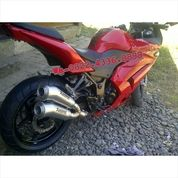 Knalpot Racing CBR 250 RR Full System