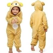 Cute Kid Onesie Pijama Bear Outfit