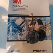 Peltor WTD2600 Worktunes-26 Radio / Hearing Protector Ear Muffs - NRR 26dB
