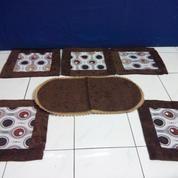 Set Cover Sarung Bantal Sofa Kursi + Taplak Meja, Bisa Dikirim & Dibayar Ditempat COD