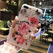 Flower Pattern Soft Case For Iphone 6 6s