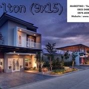Rumah Medan SHM - Menteng Indah (Halton Place) - Type Carlton (9x15)