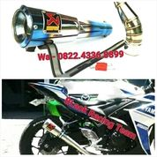 Knalpot Racing R25, Cbr 250 Rr Full System