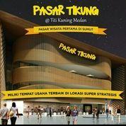Kios Di Pasar Tikung, Pasar Wisata Pertama Di Kota Medan