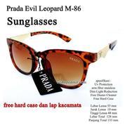 Kacamata Wanita Sunglasses Prd Evil Leopard