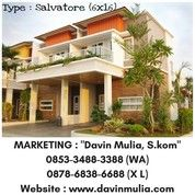Rumah Contoh Givency One Furnished Medan SHM (Type Salvatore)