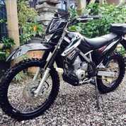 Kawasaki KLX Hitam Th 2014 Bisa Kreedit Tanpa DP