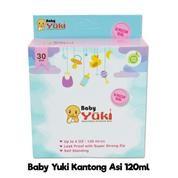 Yuki Kantong Asi 120ml Kantong Penyimpanan ASI Kecil / Plastik ASI