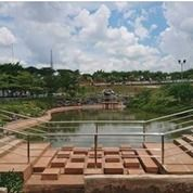 (Zone Dynasty Garden Danau Segitiga Emas) Taman Kenangan Lestari Memorial Park Karawang