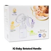 IQ Baby Breastpump Manual , Rotated Handle, Pompa Asi