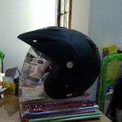 Helm INK CX22 Sport Solid Hitam Dop