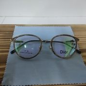Kacamata Dior Kayu Motif