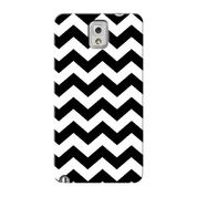 Black White Zig Zag Samsung Galaxy Note 8 Custom Hard Case