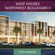 Ruko Brand New Shop House NortWest BOULEVARD II Type STANDART