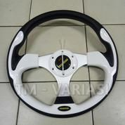 Stir Racing Momo 13 Inchi Import Putih Motif Tinggi Universal