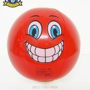Bola Balon 14 Mainan Tiup Plastik Karakter Smiley Face