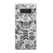Tatto 1 Dimensi Samsung Galaxy Note 8 Custom Hard Case
