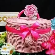 Keranjang Anyaman Rotan Gift Box