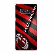 AC Milan Logo Stripes Samsung Galaxy Note 8 Custom Hard Case