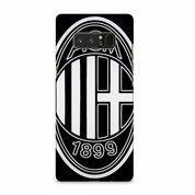 AC Milan Black Colour Logo Samsung Galaxy Note 8 Custom Hard Case