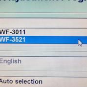 Resetter Epson WF3011 / WF 3521 Original