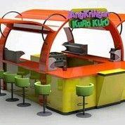 Pembuatan Mini Kios Unik Modern