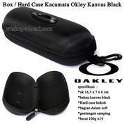 Grosir Box / Hard Case Kacamata Okley Kanvas Black