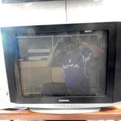 "Tv 29""Samsung ULtra SLim NFLat Mulus Ori JernihMantap Katapang SoReaNG"