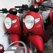 Honda Scoopy Matte Red Baru 2018