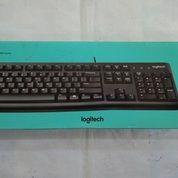 Logitech MK120 Combo Keyboard USB & Mouse USB # Aksesoris Komputer