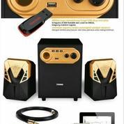 Speaker Aktif Dazumba DW266 With Bass Kontrol - Bluetooth And USB