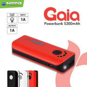 Hippo Power Bank GAIA 5200 MAH Simple Pack