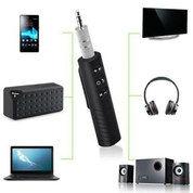 Bluetooth AUX Audio Receiver 3.5 Jack Penerimaan Siaran Musik Mobil