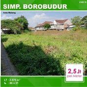 Tanah Di Simpang Borobudur Suhat Kota Malang _ 483.18