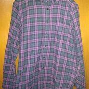 Kemeja Flannel Uniqlo Premium Original - BOF 0025