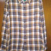 Kemeja Flannel Premium Original Uniqlo - BOF 0017