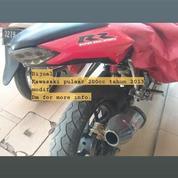 Kawasaki Bajaj Pulsar 200cc Tahun 2013 Modif Ninja