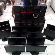 9 Unit Komputer Gaming Am3 5570 / 7730 + 13 Monitor Led/Lcd 19""