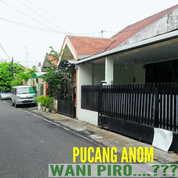 Rumah Pucang Anom Surabaya Timur Tengah Kota