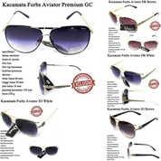 Promo Kacamata Sunglasses Aviator Forbs Full Set