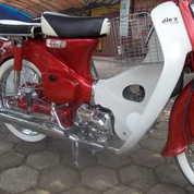 Honda C70 Merah 73 Kinclong Abis Ss Lengkap