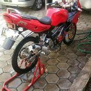 Kawasaki Ninja RR Tahun 2010 Warna Merah Cocok Buat ABG