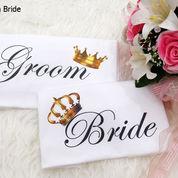 Kaos Custom Groom Bride Best Couple