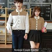 Kemeja Couple Ejector Cute Abiss