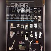 Sepatu Mesin Jahit Portable Multifungsi Presser Foot CY-032 / Sinar Toko Tiga Mesin Jahit