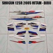 Striping Shogun 125R 2005 Hitam - Biru
